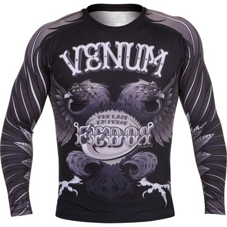 Majica muška dugi rukav (termo) VENUM - Eagle Fedor Rashguard - Crno, VENUM