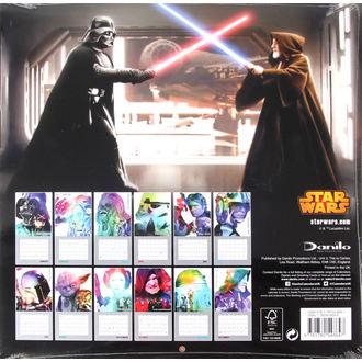 kalendar za 2016. godinu  - Star Wars