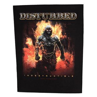 Zakrpa velika Disturbed - Indestructible - RAZAMATAZ, RAZAMATAZ, Disturbed