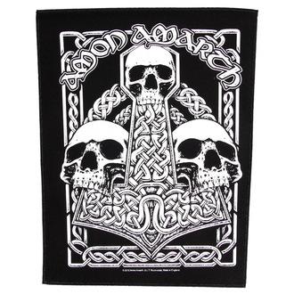 Zakrpa velika Amon Amarth - Three Skulls - RAZAMATAZ, RAZAMATAZ, Amon Amarth