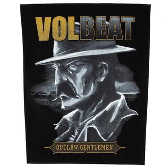 Zakrpa velika Volbeat - Outlaw Gentlemen - RAZAMATAZ, RAZAMATAZ, Volbeat