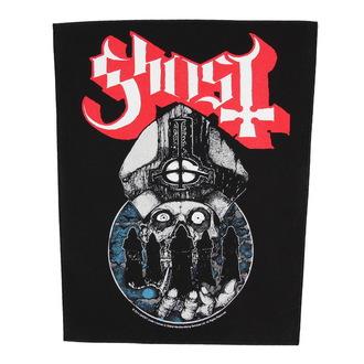Zakrpa velika Ghost - Papa Warriors - RAZAMATAZ, RAZAMATAZ, Ghost