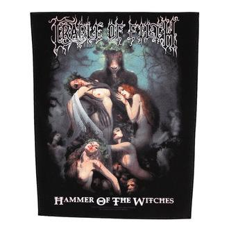 Zakrpa velika Cradle of Filth - Hammer Of The Witches - RAZAMATAZ, RAZAMATAZ, Cradle of Filth