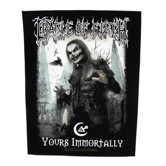 Zakrpa velika Cradle of Filth - Yours Immortally - RAZAMATAZ, RAZAMATAZ, Cradle of Filth