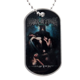 Identifikacijska pločica (dog tag) Cradle of Filth - Hammer Of The Witches - RAZAMATAZ, RAZAMATAZ, Cradle of Filth