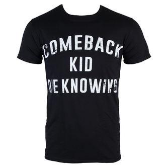 Majica muška Comeback Kid - Die Knowing - Crno - KINGS ROAD, KINGS ROAD, Comeback Kid