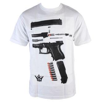 Majica muška MAFIOSO - Dismantled - Bijelo, MAFIOSO