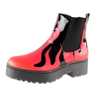 Cipele ženske IRON FIST - Fire Sign Heavy Sole - Crno, IRON FIST