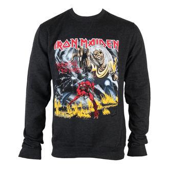 hoodie muški Iron Maiden - NOTB Napuhati Tiskati - ROCK OFF, ROCK OFF, Iron Maiden