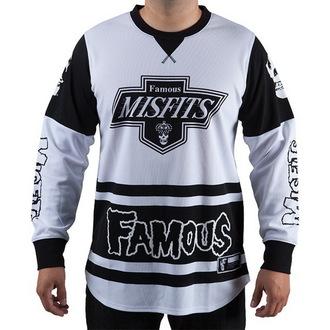 Majica muška dugi rukav (dres) FAMOUS STARS & STRAPS - Misfits, FAMOUS STARS & STRAPS, Misfits