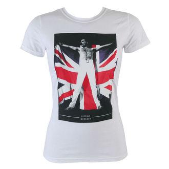 Majica ženska Freddie Mercury - Flag - BRAVADO, BRAVADO, Queen