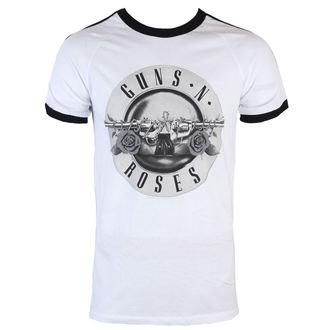 Majica muška Guns N' Roses - Bullet Logo Soccer - BRAVADO, BRAVADO, Guns N' Roses