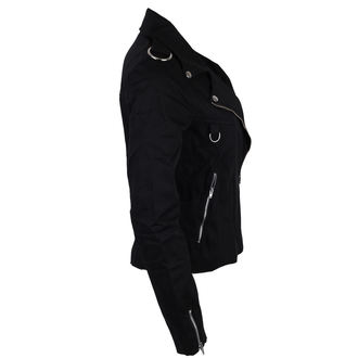 jakna ženska BLACK PISTOL - Biker - Crno - B-6-06-001-00