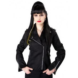 jakna ženska BLACK PISTOL - Biker - Crno, BLACK PISTOL