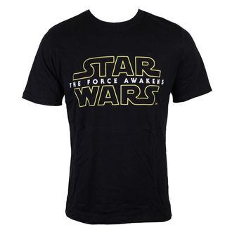 Majica muška Star Wars - Star Wars VII - The Force Awakens Logo - Crno - INDIEGO, INDIEGO