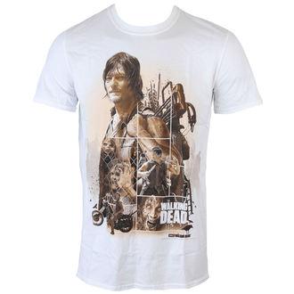 Majica muška The Walking Dead - Daryl Montage - Bijelo - INDIEGO, INDIEGO