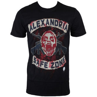 Majica muška The Walking Dead - Safe Zone - Crno - INDIEGO, INDIEGO