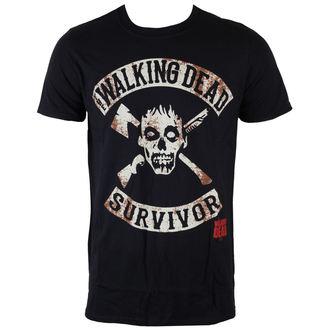 Majica muška The Walking Dead - Survivor - Crno - INDIEGO, INDIEGO