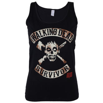 Potkošulja ženska The Walking Dead - Survivor - Crno - INDIEGO, INDIEGO