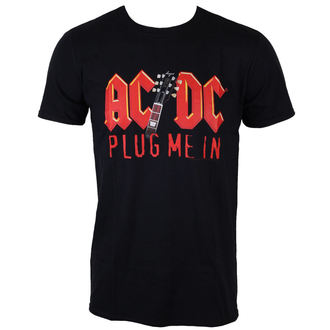 Majica muška AC / DC - Plug Me In With Angus Young - Crno - LOW FREQUENCY, LOW FREQUENCY, AC-DC