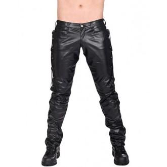 hlače muške BLACK PISTOL -  Logo Pants Skye (Crno), BLACK PISTOL