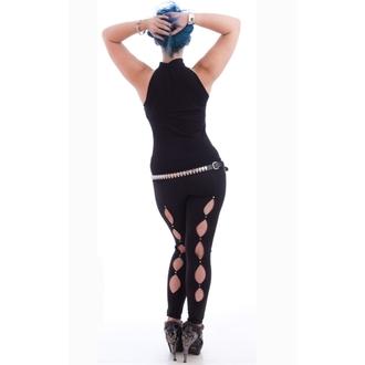 Potkošulja ženska NECESSARY EVIL - Shala Keyhole - Crno, NECESSARY EVIL