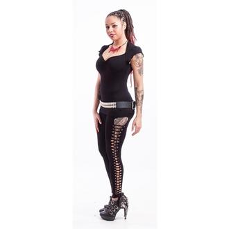 Hlače ženske (tajice) NECESSARY EVIL - Terra Slashed - Crno, NECESSARY EVIL