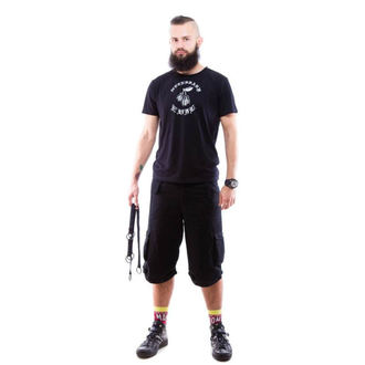 kratke hlače muške NECESSARY EVIL - Mider - Crno, NECESSARY EVIL