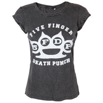 Majica ženska Five Finger Death Punch - Knuckleduster - ROCK OFF, ROCK OFF, Five Finger Death Punch