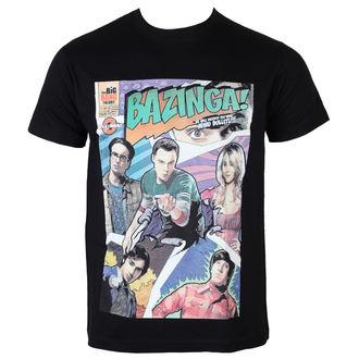 Majica muška Big Bang Theory - Bazinga Comic Cover - Crno - HYBRIS - WB12-TBBT017-H34-11