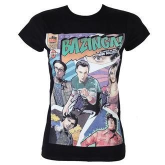 Majica ženska Big Bang Theory - Bazinga Comic Cover - Crno - HYBRIS - WB12-TBBT017-L-H34-1