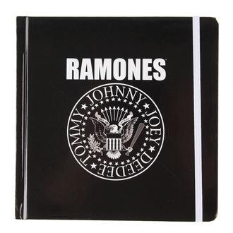 rokovnik Ramones - Presidential Seal - ROCK OFF, ROCK OFF, Ramones