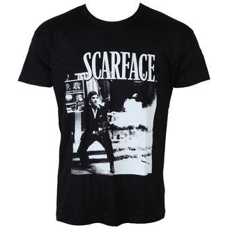 Majica muška  Scarface - Wanna Play Rough - Crno - UV-1-SF004-H39-10