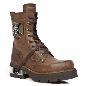 cipele NEW ROCK - VENTURE AVIADOR MARRON M3 ACERO ORIF, NEW ROCK