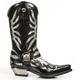 cipele NEW ROCK - PITON BLANCO NEGR WEST, NEW ROCK