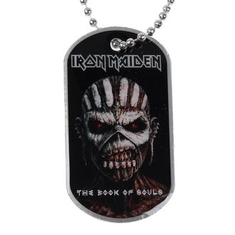 Identifikacijska pločica (dog tag) Iron Maiden - The Book Of Souls - RAZAMATAZ, RAZAMATAZ, Iron Maiden