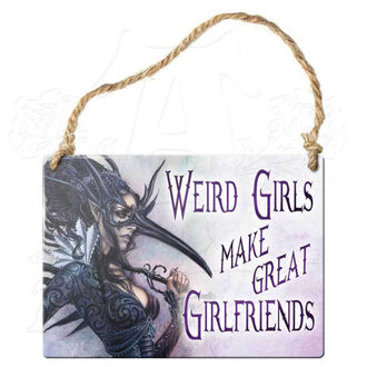cedulja ALCHEMY GOTHIC - Weird Girls Make Great Girlfriends, ALCHEMY GOTHIC