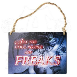 cedulja ALCHEMY GOTHIC - All The Cool People Are Freaks, ALCHEMY GOTHIC