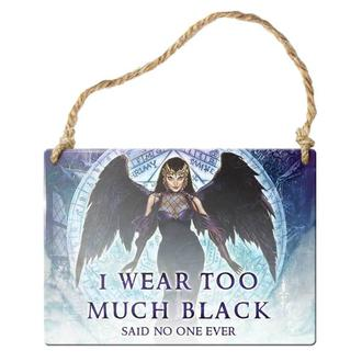 cedulja ALCHEMY GOTHIC - I Wear Too Much Black, ALCHEMY GOTHIC