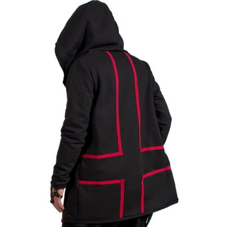 hoodie (unisex) AMENOMEN - Cross - Crno, AMENOMEN