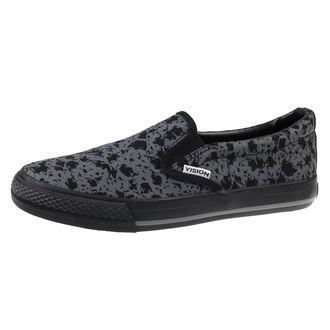 cipele  VISION  - Slip-On - Siva / Lubanje, VISION