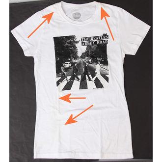 Majica ženska Beatlesi - Abbey Cesta - BRAVADO - OŠTEĆENA, BRAVADO, Beatles