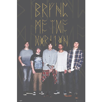 plakat Bring Me The Horizon - Group Black, GB posters, Bring Me The Horizon