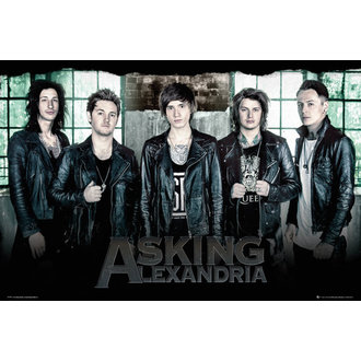 plakat Asking Alexandria - Window - GB posters, GB posters, Asking Alexandria