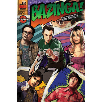 plakat Big Bang Theory - Comic - GB posters, GB posters