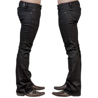 hlače muške (jeans) WORNSTAR - Hellraiser - Black, WORNSTAR
