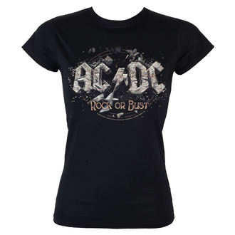 Majica ženska AC / DC - Rock Or Bust - LOW FREQUENCY, LOW FREQUENCY, AC-DC