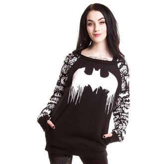 hoodie ženski POIZEN INDUSTRIES - Graffiti - Batman - Crno, POIZEN INDUSTRIES