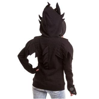 hoodie ženski POIZEN INDUSTRIES - Black Fury - Crno, POIZEN INDUSTRIES