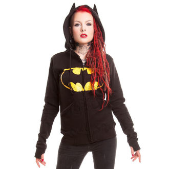 hoodie ženski POIZEN INDUSTRIES - BM Revenge - Batman - Crno, POIZEN INDUSTRIES